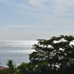 Mar, foto panorâmica.