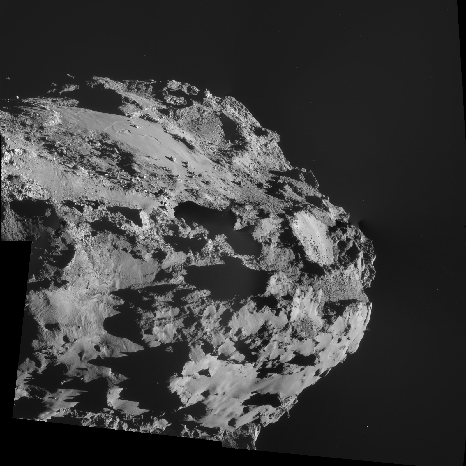 ESA_Rosetta_NAVCAM_141008_A-B-C-D-(hugin-rectilinear)